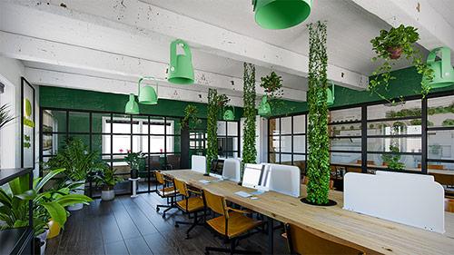 Điểm danh những xu hướng thiết kế nội thất văn phòng hiện đại