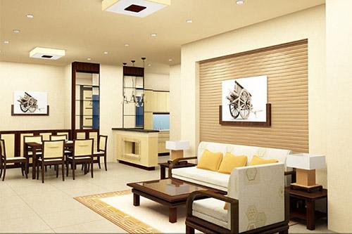 Những mẹo hữu ích khi thiết kế nội thất phòng khách nhỏ