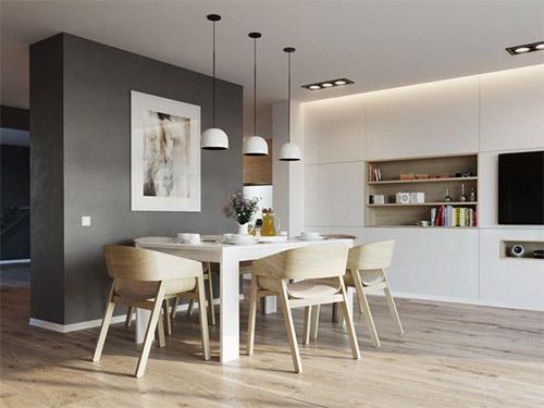 Những yếu tố giúp bạn có được không gian nội thất phòng bếp ăn đẹp