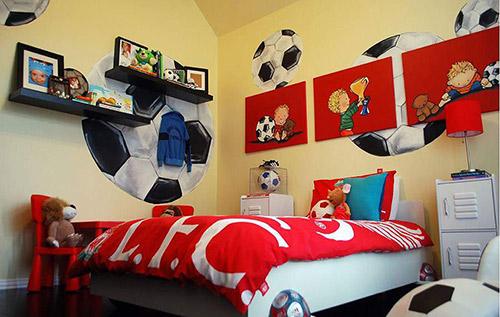 Lưu ý gì khi chọn nội thất phòng ngủ cho bé trai?