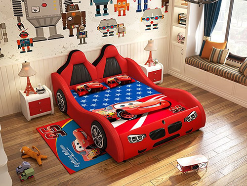 Trang trí nội thất phòng ngủ cho bé trai