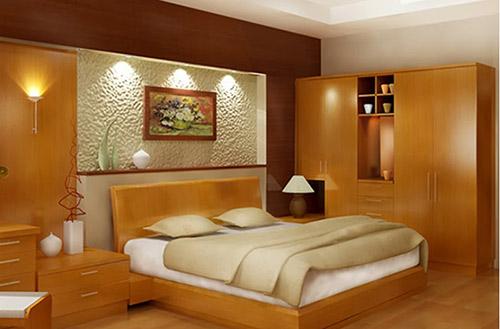 Màu sắc đồ nội thất phòng ngủ cho người mệnh Kim