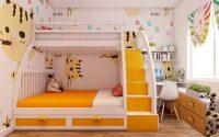Lựa chọn đồ nội thất phòng ngủ trẻ em cần chú ý tới những điều gì?