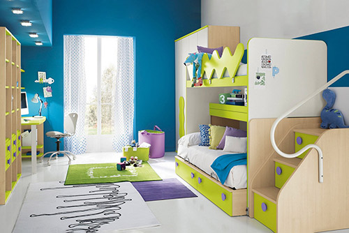 Hướng dẫn cách thiết kế nội thất phòng ngủ trẻ em hiện đại