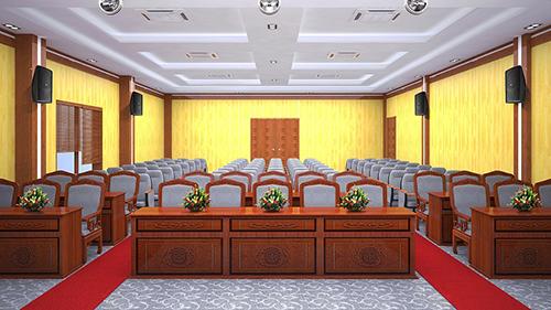 Chọn kích thước bàn ghế cho hội trường phù hợp