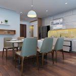 Những lưu ý quan trọng khi thiết kế nội thất phòng ăn chung cư