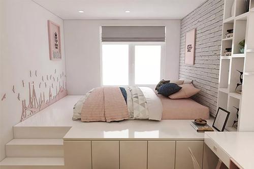 Màu sắc nội thất phòng ngủ 12m2