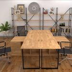 Những ưu điểm vượt trội giúp bàn văn phòng gỗ ghép luôn HOT