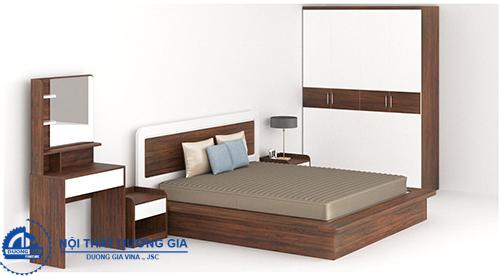 Bộ giường tủ Hòa Phát 308