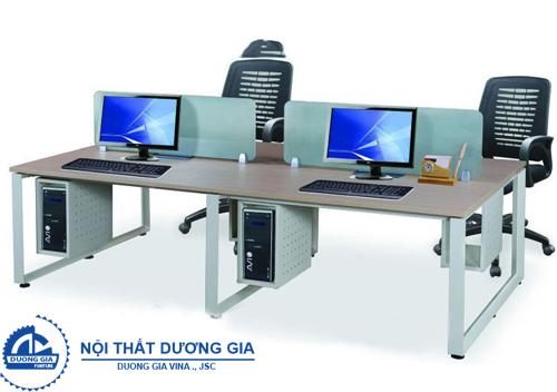 Bàn làm việc văn phòng có vách ngăn HRMD07H1