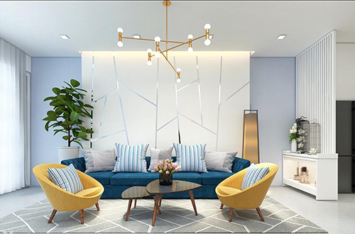 Trang trí nội thất phòng khách phong cách hiện đại